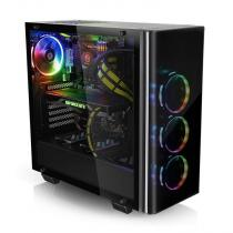 Thermaltake View 21 Tempered Glass Edition Window Black