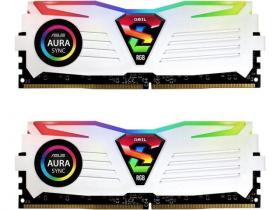 Geil 8GB DDR4 2400MHz Super Luce White RGB Sync Kit2 (2x4GB)