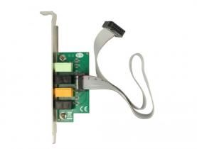 DeLock PCI Express Soundcard 7.1 - 24 Bit / 192 kHz with TOSLINK In / Out